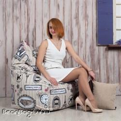 Кресло мешок Кошка Париж
