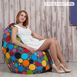Кресло Груша XL  Точки