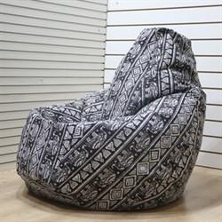 Кресло Груша L BeanBag Слоны - фото 5363