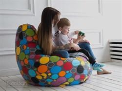 Кресло Груша XL CoolBag Точки - фото 6049