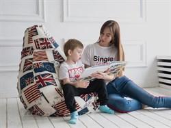 Кресло Груша XL CoolBag Британия - фото 6128