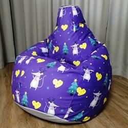 Кресло Груша L CoolBag Мышки - фото 6154