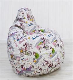 Кресло Груша XL CoolBag Girls - фото 6421