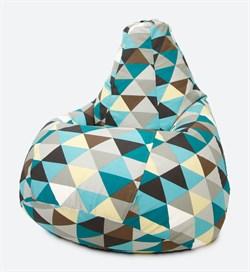 Кресло Груша XL CoolBag Ромб - фото 6487