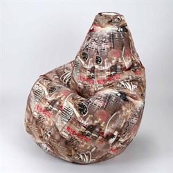 Кресло Груша XL BeanBag Велюр Сидней - фото 6838