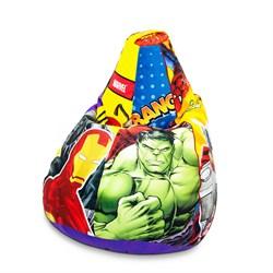 Кресло Груша L CoolBag Marvel - фото 6967