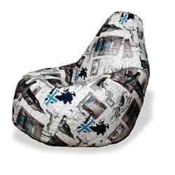 Кресло Груша XL BeanBag Велюр Марка - фото 6972