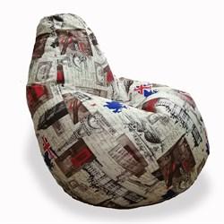 Кресло Груша XXL BeanBag Велюр Марка - фото 6988