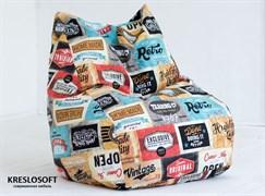 Кресло-мешок XL KresloSoft Кошка Лейбл