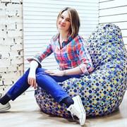 Кресло Груша XL BeanBag Точки