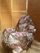 Кресло мешок велюр