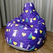 Кресло Груша XL CoolBag Мышки